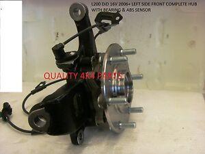 Mitsubishi L200 4D56 2.5 DiD KB4T 06+ Break Abs Bearing COMPLETE HUB NEW L/F