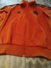 VINTAGE ADIDAS JACKET HOLLAND NEDERLANDS KNBV NO GERMANY BELGIUM ITALIA CRUYFF