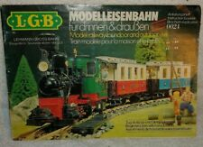 "19?? LGB CATALOG - LGB Lots of Pictures- In GERMAN 5.5"" by 8.5"""