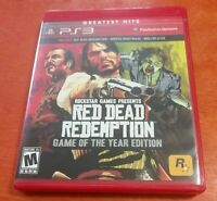 Red Dead Redemption Game of the Year Edition Sony PlayStation 3 PS3 Rockstar