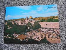 VINTAGE /  POST CARD / JERUSALEM / TEMPLE AREA