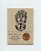 LARRY BIRD Boston Celtics 1981 Penny Insert NEVER GO BROKE Trade Card RARE