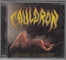 CAULDRON - chained to the nite CD