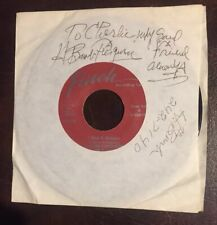 H. Bomb Ferguson: Finch Records 45 Signed Sleeve!👀 I Had A Dream / Medicine Man