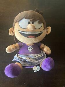 "The Loud House Luna Plush Toy Doll Figure Nickelodeon Cartoon Show Girl 10"""