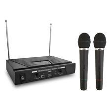 Coppia Radio Microfoni Vhf microfono Dinamico Gelato Senza Fili Wireless ottimi!