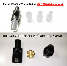 OVAL TUBE SET PUNCH & ANVIL HOLDER SET FITS T-NDY TYPE PRESSES & 3005-00 TUBES