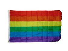 GAY RAINBOW  FLAG 3 X 5 3X5 FEET POLYESTER NEW
