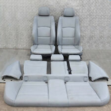 BMW 1 SERIES E87 M Sport Grey Leather Interior Seats with Airbag Door Cards