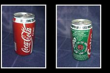 COLLECTABLE OLD AUSTRALIAN COKE SOFT DRINK CAN, COCA COLA MATCH & WIN
