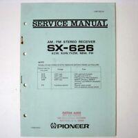 Pioneer ® SX-626 AM/FM Stereo Receiver Service Manual - Genuine - ART-027-0