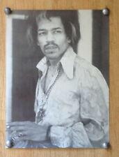 "Jimi Hendrix black and white poster 14.5"" x 19.5"""