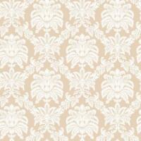 """Wallpaper Cottage Washed 2.75/"""" wide Pink and Eggshell White Stripe"""