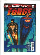 Dark Days: The Forge #1 NM- 9.2 DC Comcs Romita Jr. Variant Batman Jim Lee