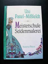 Meisterschule Seidenmalerei - Werkzeug, Aquarell, Malen auf Glasplatte, Art-Deko