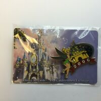 Disney's Visa Cardmember Exclusive 2006 - Tinker Bell Disney Pin 45417