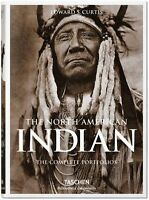 The North American Indian: The Complete Portfolios New Hardcover Book Edward She