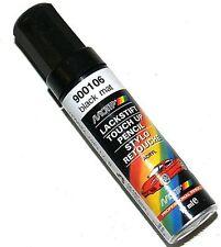 Stylo pinceau retouche peinture noir mat MOTIP M900106 12 ml