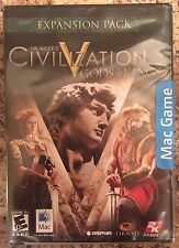 SEALED NEW Sid Meier's Civilization V GODS & KINGS for MAC Game Expansion Pack 5