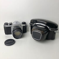 Asahi Pentax SV camera with 55mm f1.8 Super-Takumar Lens - With Case and Filter