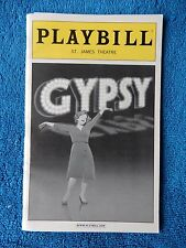 Gypsy - St. James Theatre Playbill w/Ticket - December 16th, 2008 - Patti LuPone