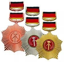 Vaterländischer Verdienstorden (Set) | VVO DDR-Orden NVA MfS Aktivist Kombinat