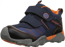 pediped FLEX Boys Waterproof Max Navy Leather Booties US Size 1.5-2 (EU 33) $70