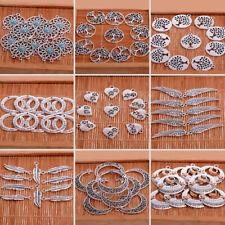 Lots 10pcs Bulk Tibetan Silver Charm Pendants Jewelry Making DIY Craft Xmas