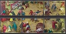 Belgium**BREUGHEL painting –MEDIEVAL CHILDREN GAMES-6vals -1967-MNH-peinture-