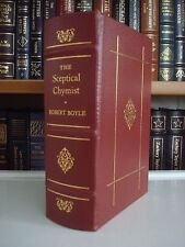 THE SKEPTICAL CHEMIST Robert Boyle Gryphon Science Classics Leather