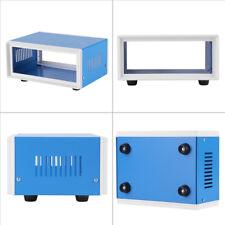 170*130*80mm Blue Metal Enclosure Project Case DIY Junction Box DH