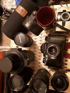 Edixa Prismaflex Camera & Edixa-Auto-Cassaron F 50mm Lens + untested extras