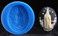 DIY Handmade Virgin Mary Silicone Mould