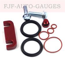 Duramax Fuel Filter Seal Rebuild kit-Bleeder Screw-Head Housing Spacer Kit-Red