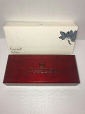 2012 Canada FAREWELL TO THE PENNY Silver 5 historical design coin set 5000 mtg