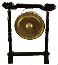 More details for 25cm vietnamese metal gong oriental chinese buddhist meditation - without stand