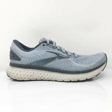 Brooks Womens Glycerin 18 1203171B073 Sky Blue Running Shoes Lace Up Size 9 B