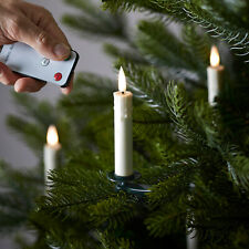 20 TruGlow Ivory Wax Battery Operated Flameless LED Christmas Tree Candles