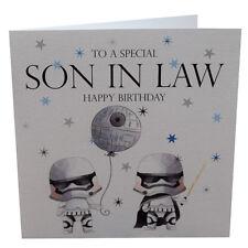 Birthday Card Star Wars Son in Law Birthday Card, Brother, Dad, Uncle, Husband