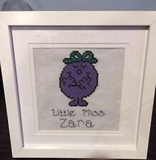 Framed Cross Stitch Completed Cross Stitches