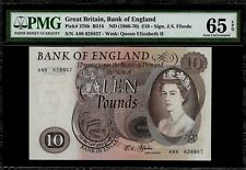 Great Britain  10 Pound 1966-70 PMG 65 EPQ UNC P#376b
