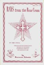 RAYS FROM THE ROSE CROSS 1979 MARCH IS ASTROLOGY CHRISTIAN MUSIC OF SPHERES