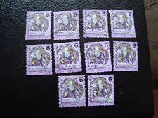 AUTRICHE - timbre yvert et tellier n° 1937 x10 obl (A01) stamp austria (A)