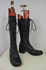 Unbranded 100% Leather Lace Up Boots for Women