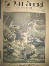 NAUFRAGE LA FRAMéE MORT HEROÏQUE Cdt DE MAUDUIT DU PLESSIX LE PETIT JOURNAL 1900
