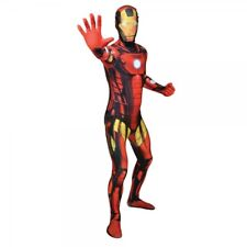 Marvel Comics Iron Man Adult Unisex Cosplay Costume Morphsuit XXL