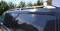 To Fit 04 - 15 VW Transporter T5 LWB Caravelle Aluminium Alloy Roof Rails Bars