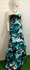 Ladies JUMP APPAREL DRESS Size 3/4 JUNIOR MERMAID STRAPLESS LONG EMBELLISHED