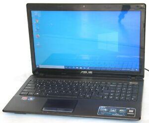 """ASUS X53B SSD-256GB DDR3 -4GB 15,6 """" Zoll Win-10 Pro 64Bit"""
