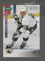 1994-95 Parkhurst WAYNE GRETZKY Gold Foil Parkie Rare SP Los Angeles Kings 1:47